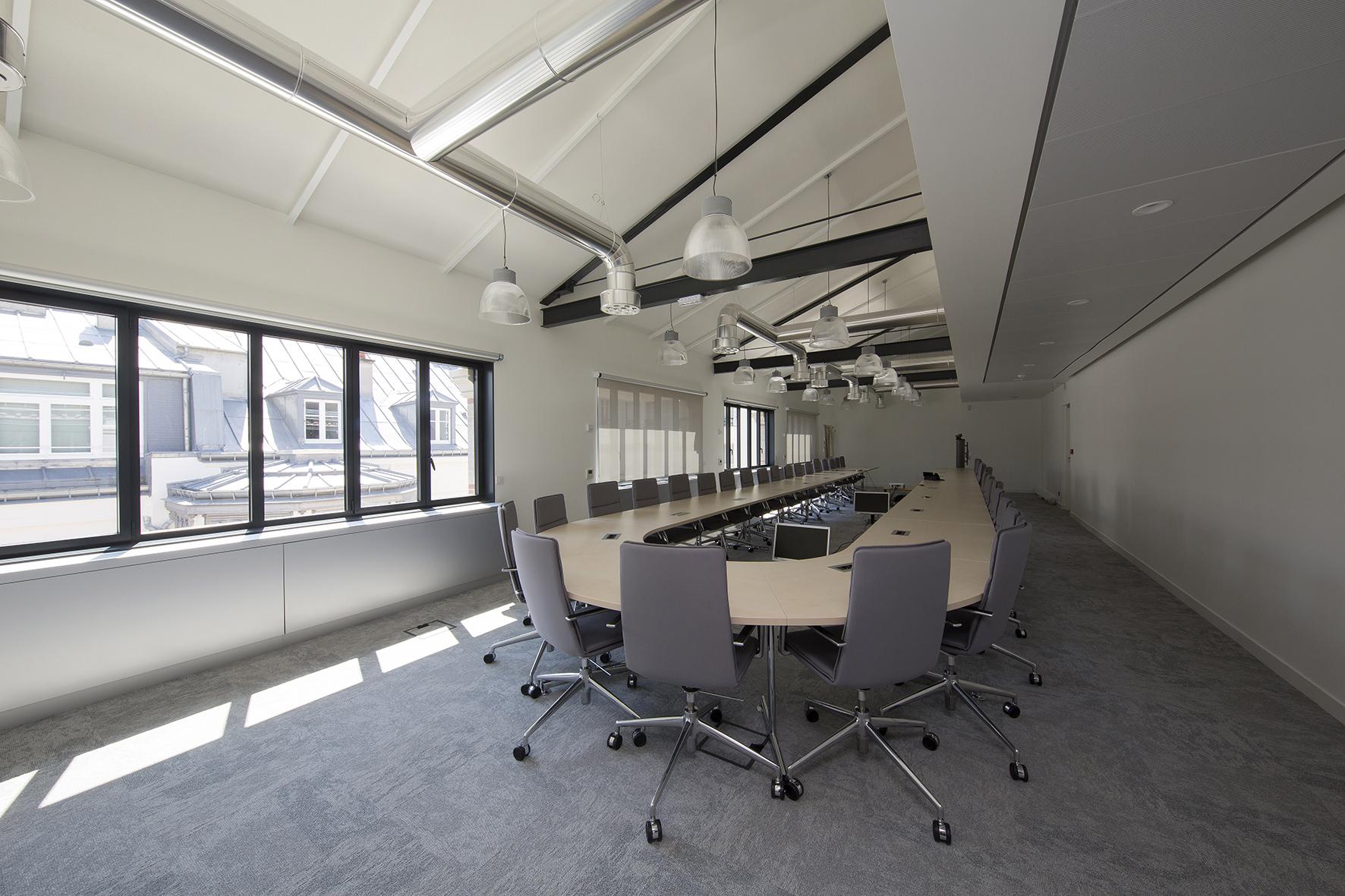 Plateau de bureaux au 4ème étage
