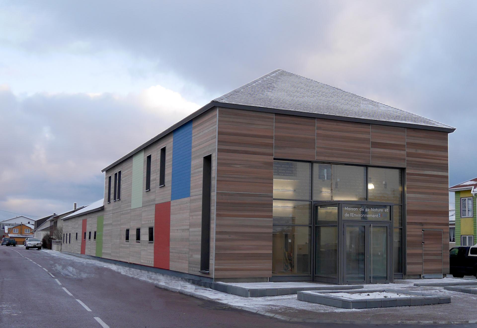 Maison de la Nature et de l'Environnement à Miquelon