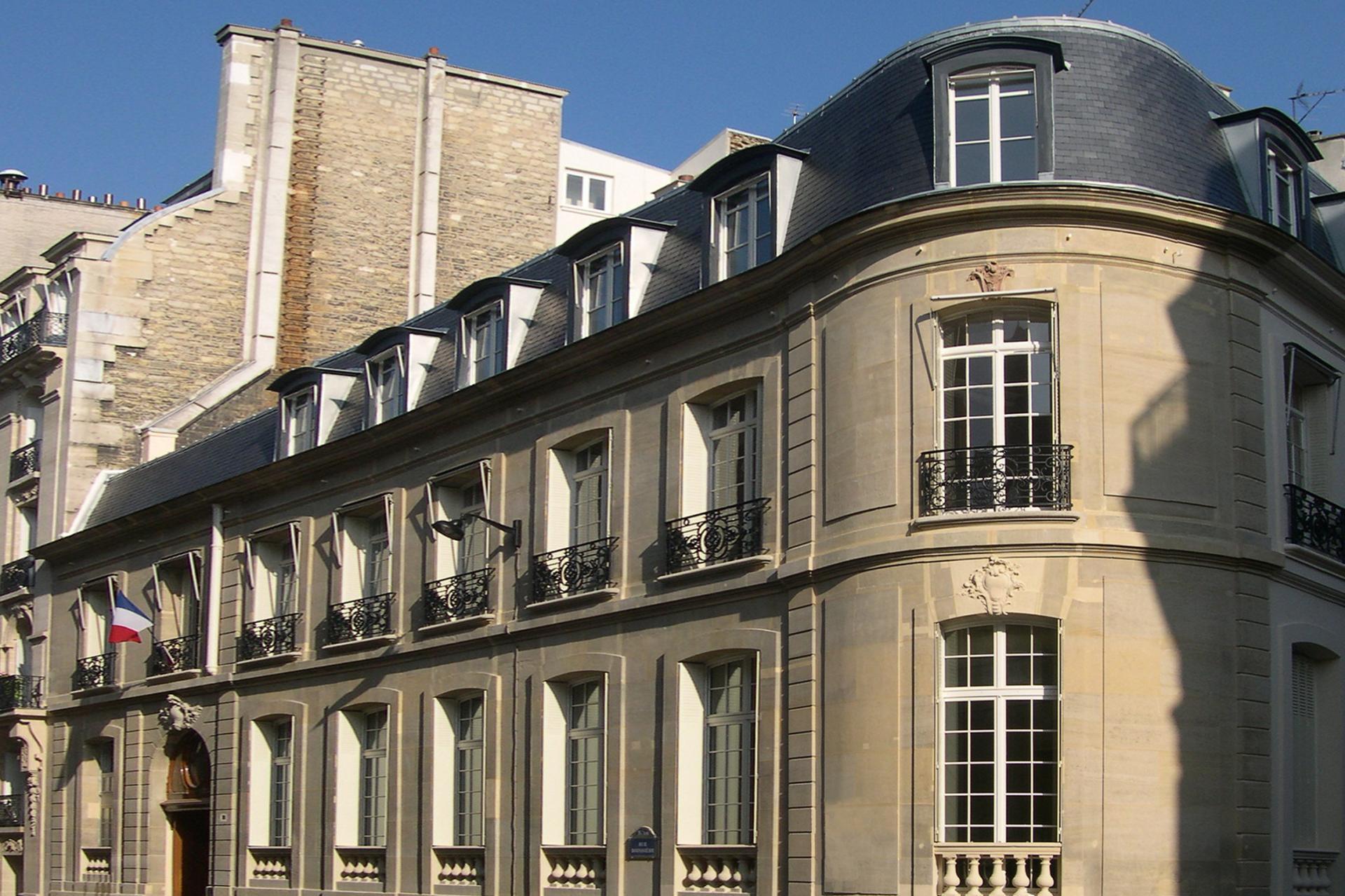 Restructuration des locaux de la CNMSS Paris 16e